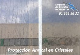 Vídeo de Protección Antical en Cristales