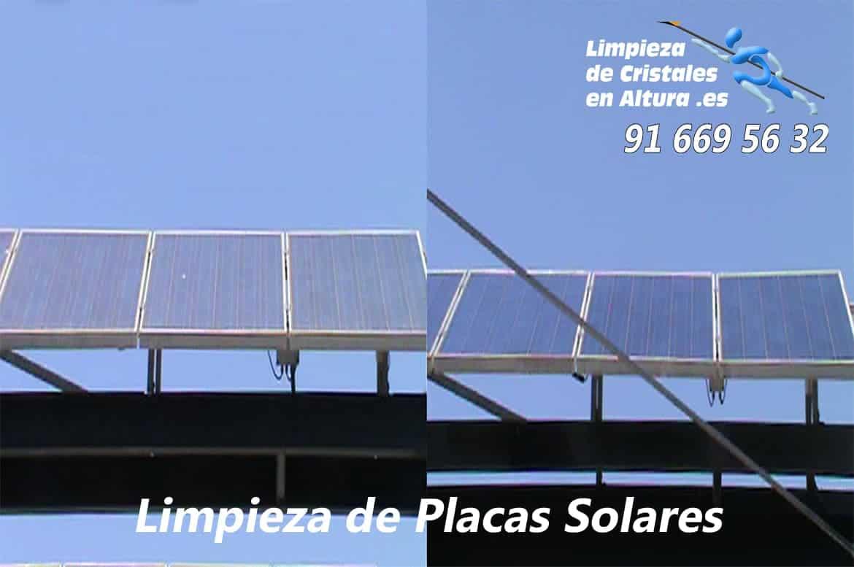 Imágenes y Vídeos - Limpieza de Placas Solares