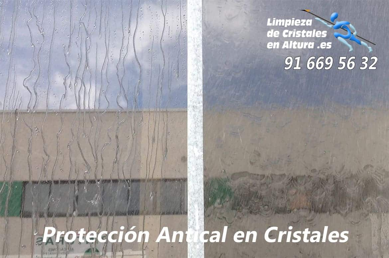 Servicios de Protección Antical en Cristales
